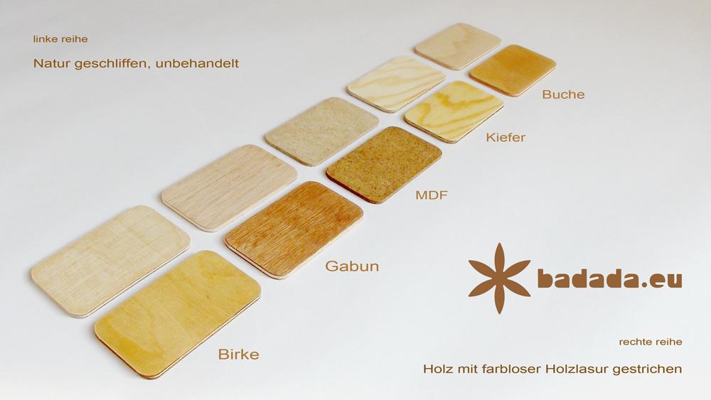 Holzartenvergleich